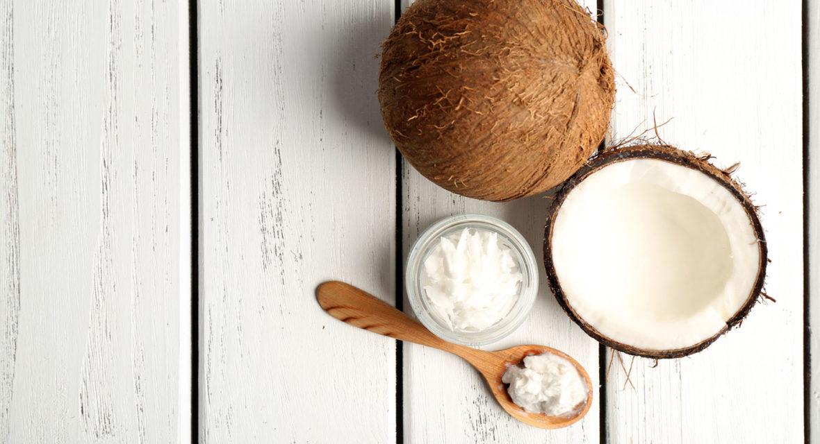 Haarmaske selber machen aus Kokosnussöl