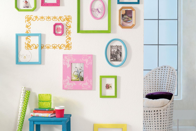 fotowand gestalten - 2 kreative ideen, die du ausprobieren solltest, Wohnzimmer dekoo