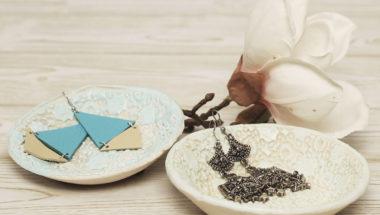 Salzteig-Rezept und Schale selber machen