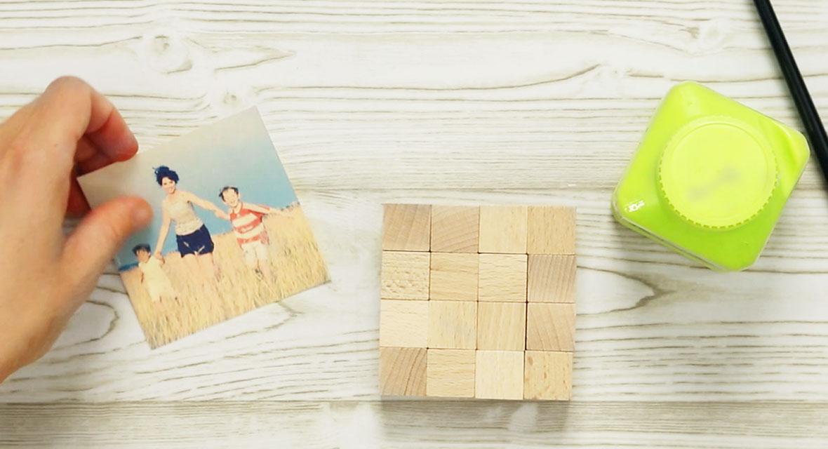 puzzle selber machen kreative geschenkidee. Black Bedroom Furniture Sets. Home Design Ideas