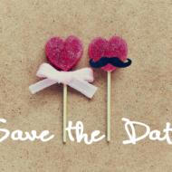 Save the Date Karten basteln für deine Hochzeit
