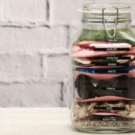Geldegeschenk im Glas selber machen