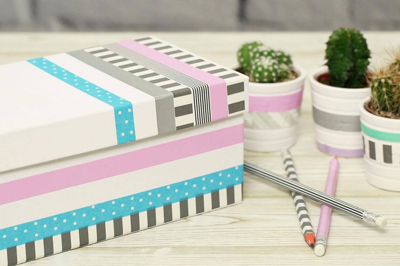 washi tape ideen mach deine wohnung noch sch ner. Black Bedroom Furniture Sets. Home Design Ideas