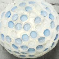 Lampe basteln aus Muffinförmchen