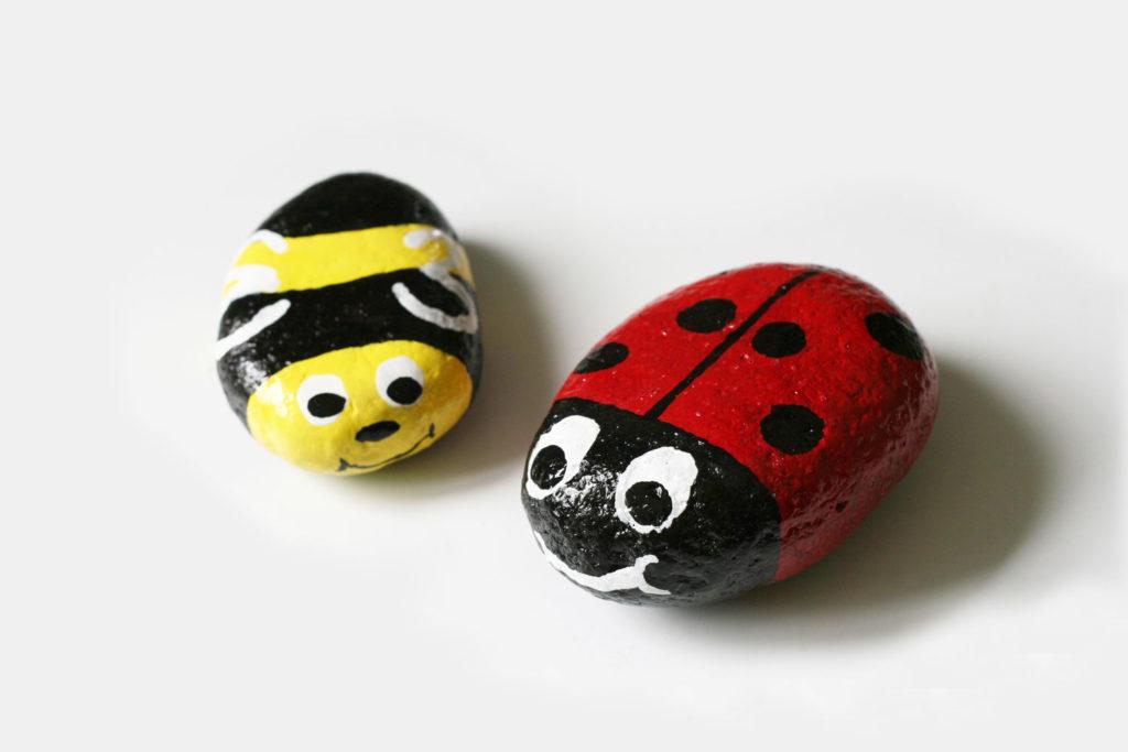 Die Maske für die Person des Honigs