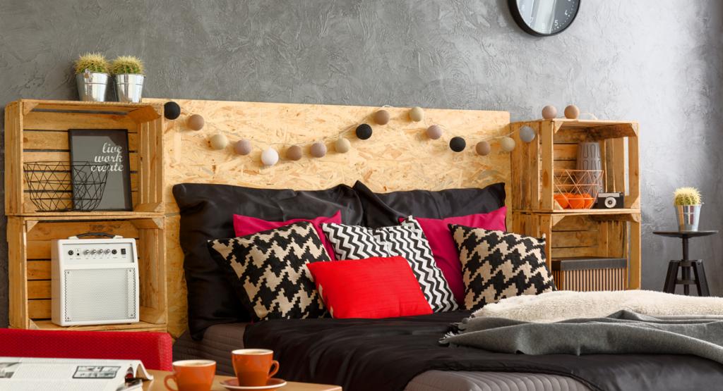 die 6 sch nsten diy weinkisten m bel vom regal bis zum tisch. Black Bedroom Furniture Sets. Home Design Ideas
