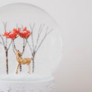 DIY Schneekugel basteln