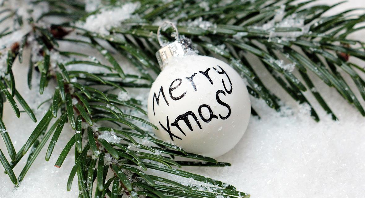 Weihnachtskugel basteln für den Weihnachtsbaum