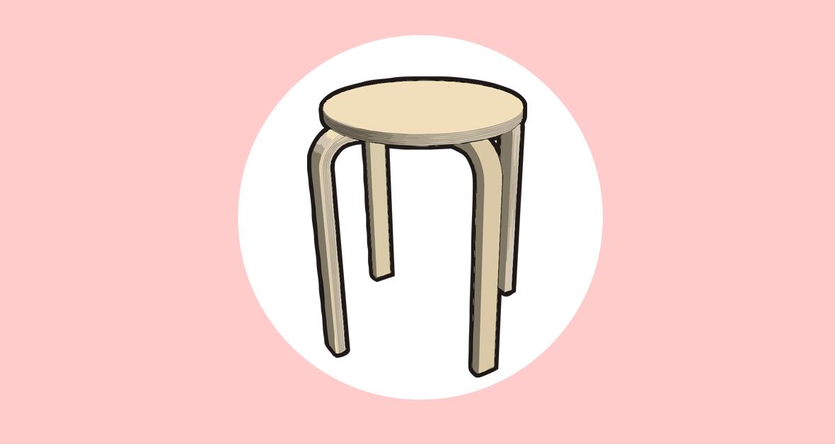 Ikea Ideen mit dem frosta Hocker