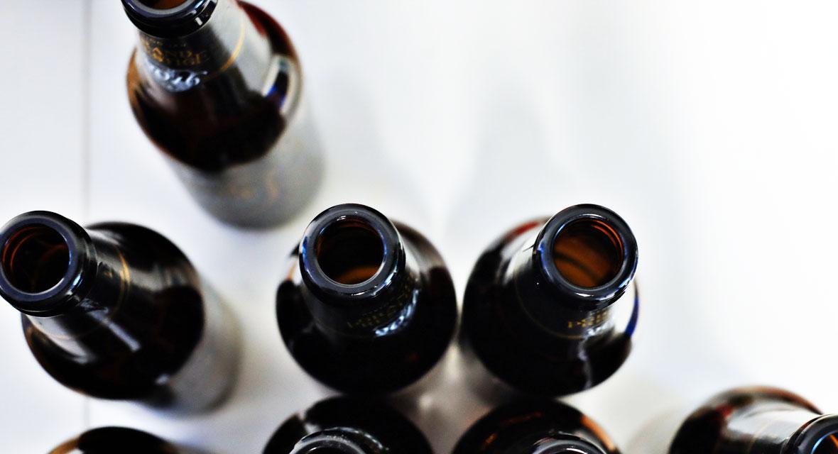 Basteln mit Weinflaschen