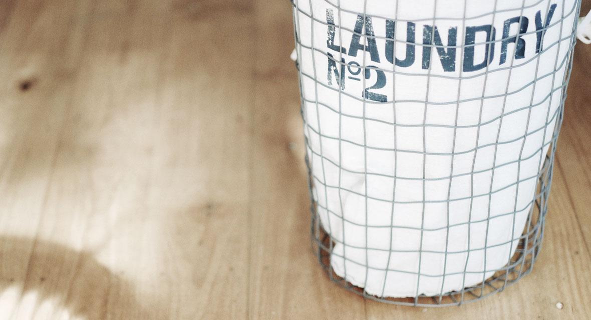 Coole Ideen für einen DIY Wäschekorb