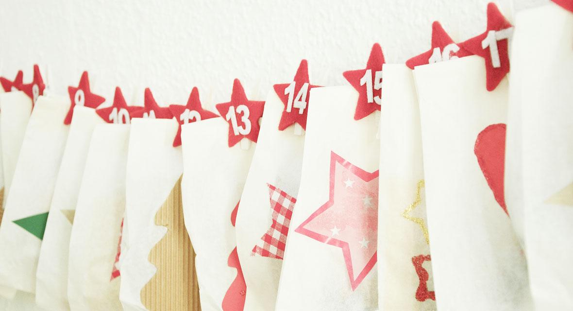Ideen zum Last-Minute-Adventskalender-basteln