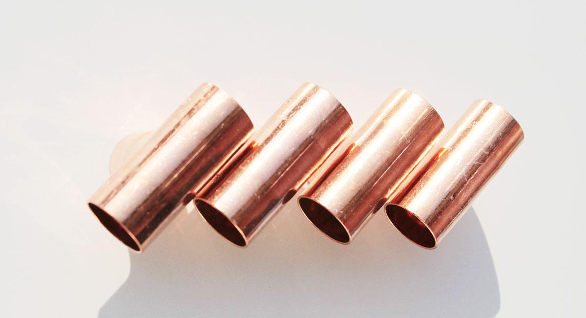 Basteln mit Kupferrohren