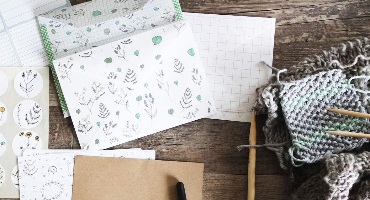 Varianten zum Briefumschlag falten