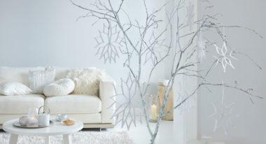 Papiersterne falten für die Winterdeko