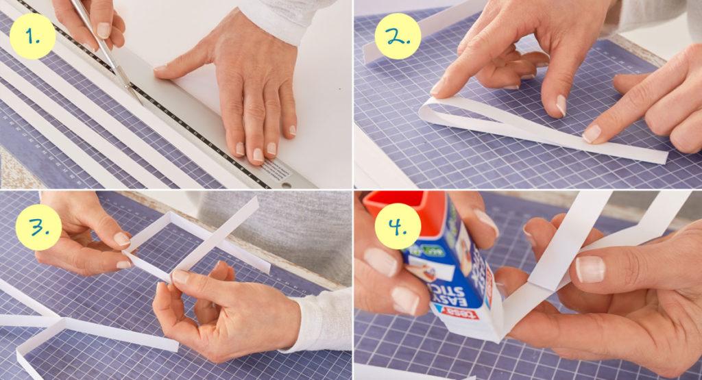 filigrane papiersterne falten in 10 minuten step by step anleitung. Black Bedroom Furniture Sets. Home Design Ideas