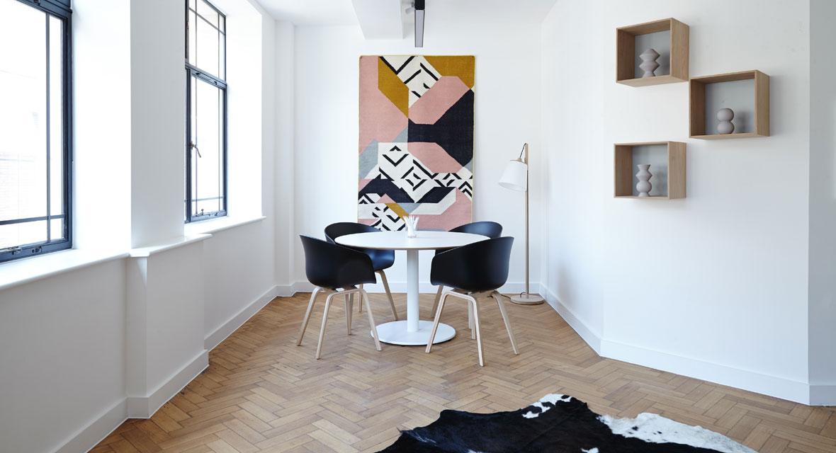 Wand verschönern mit Masking Tape und Co.