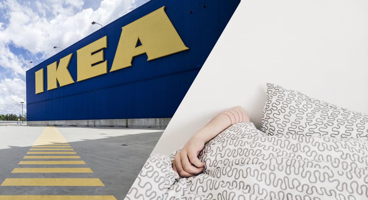 Neuer Trend: Sleepover in Ikea Filialen