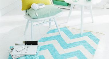 Verpasse deinem Teppich ein Makeover