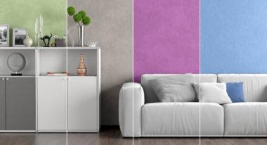 Farben geben Räumen ein Gesicht und erzeugen verschiedene Stimmungen.