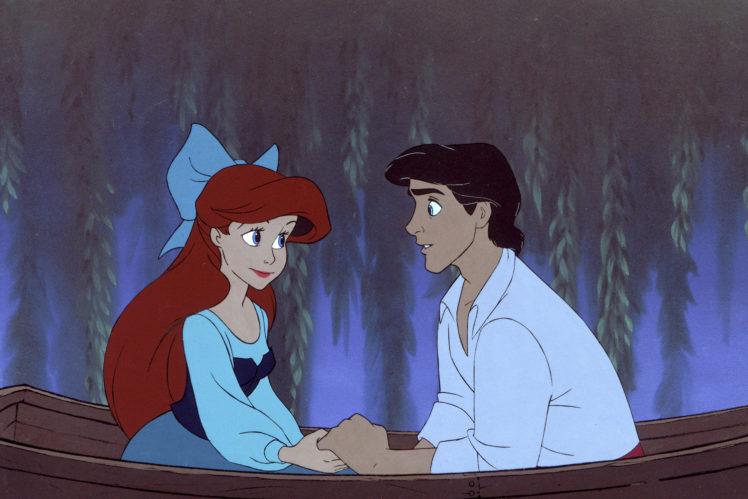 Prinz Erik und Arielle - die kleine Meerjungfrau.