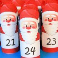 Adventskalender Weihnachtsmänner