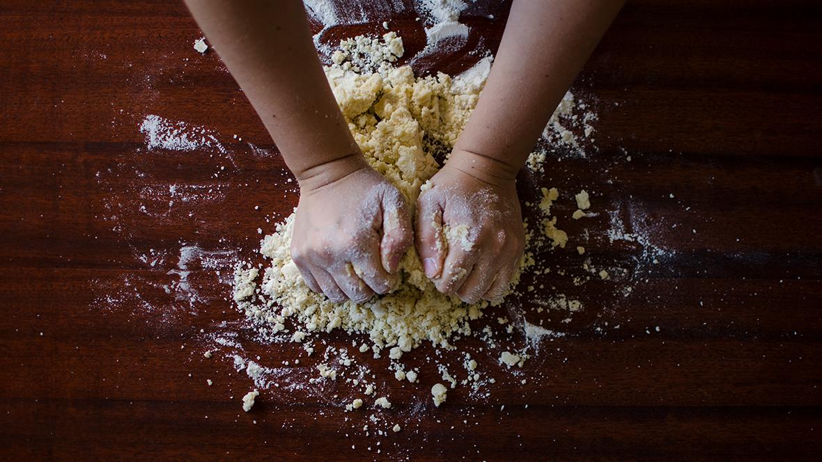 Ein einfaches Salzteig Rezept für Groß und Klein