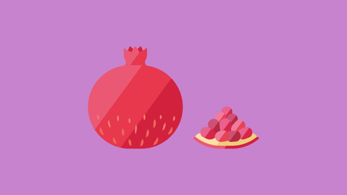 20. SSW: Dein Baby ist so groß wie ein Granatapfel
