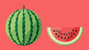 40. SSW: Dein Baby ist so groß wie eine Wassermelone