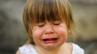 Kleinkind mit Wutanfall
