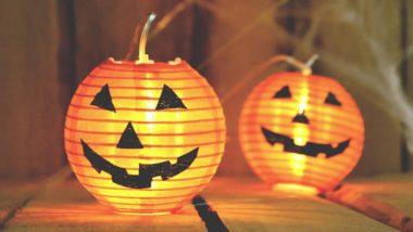 Halloween Kürbis Laterne